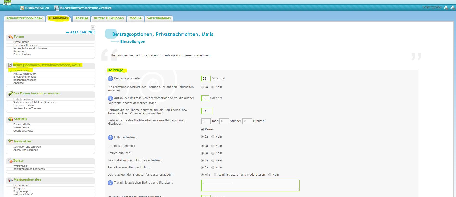 Editoren, Smilies und Chat werden nicht angezeigt Lexi_a11