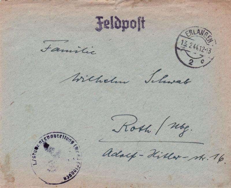 Lettre d'un soldat allemand Envelo10