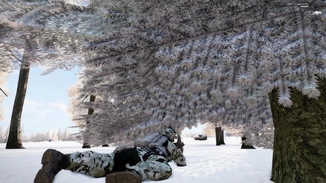 Cougar, carte-treillis neige et MAJ @cpares Arma3_13