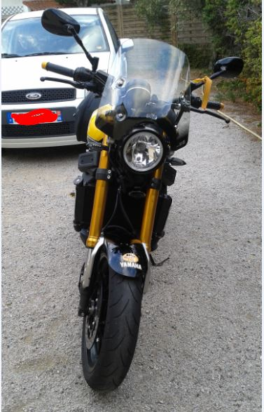 Bulle sport Yamaha XSR 900 110