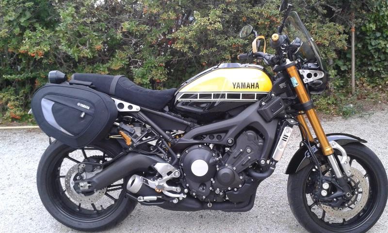 Bulle sport Yamaha XSR 900 20160910