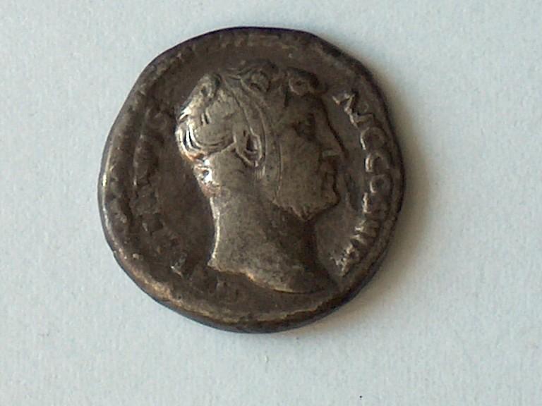 Denier Hadrian RIC 267a 41 4110