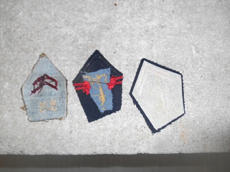 Lot de 3 pattes de col infanterie et cuirassier -ESC 1 - BAISSE Dscn0521