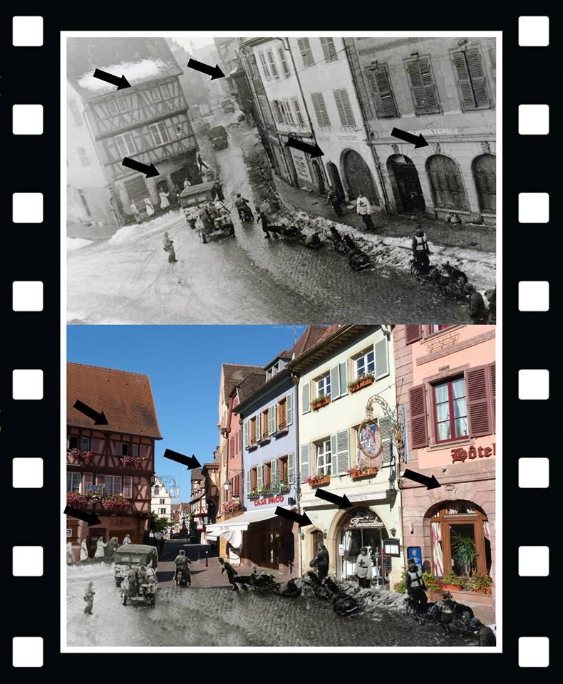 Les Allemands évacuent Colmar le 2 février 1945  14089110