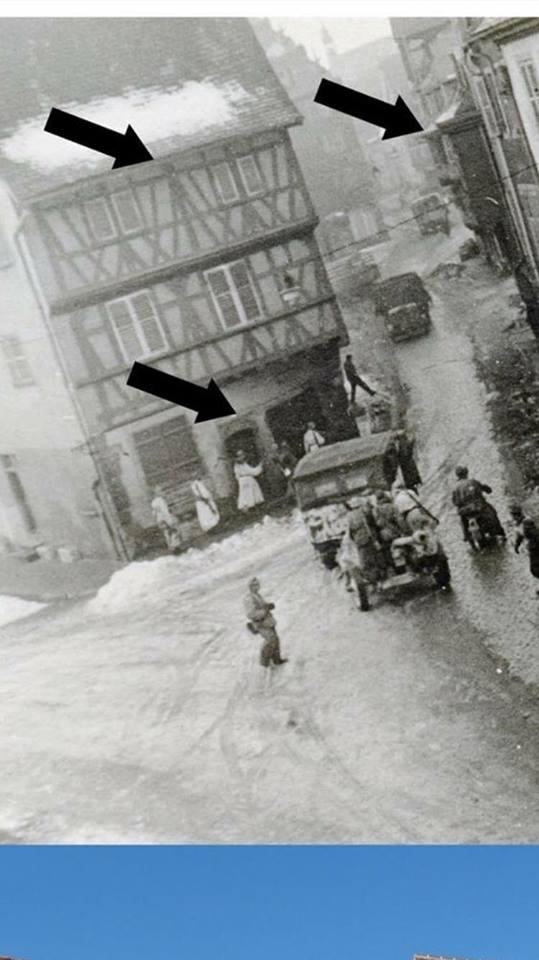 Les Allemands évacuent Colmar le 2 février 1945  14527510