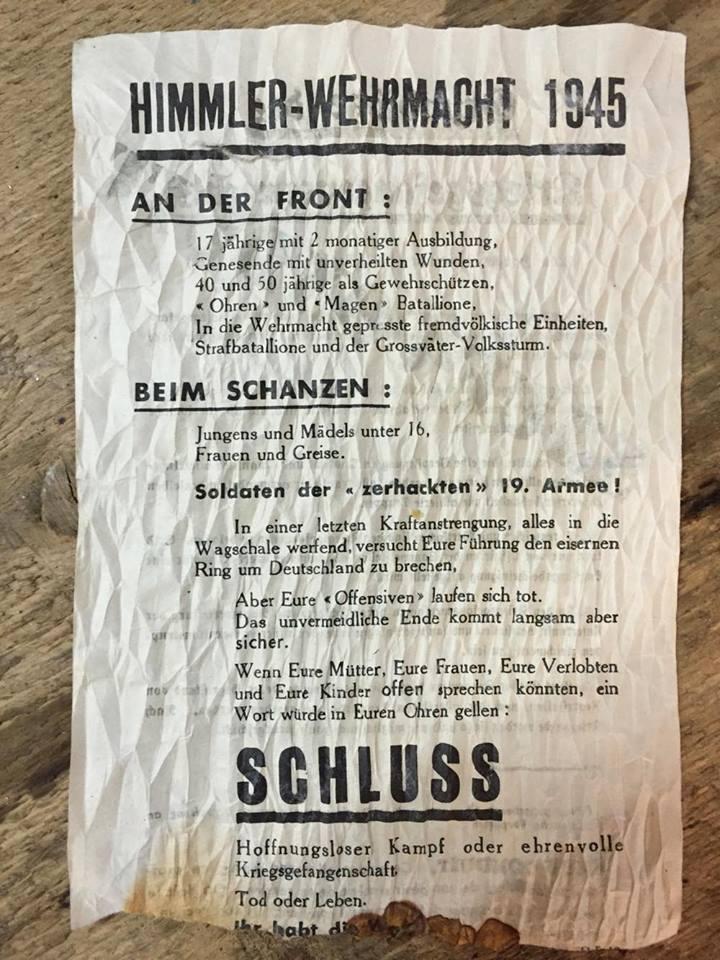 Les Allemands évacuent Colmar le 2 février 1945  14528110
