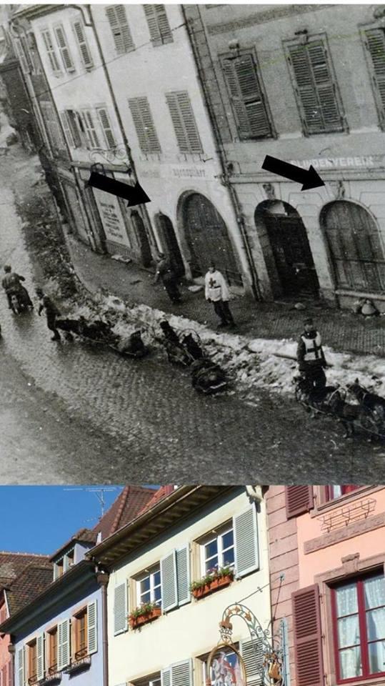 Les Allemands évacuent Colmar le 2 février 1945  14569010