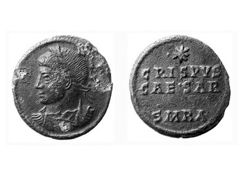 Le monnayage des vicennalia de 326 et la mort de Crispus Crispu14