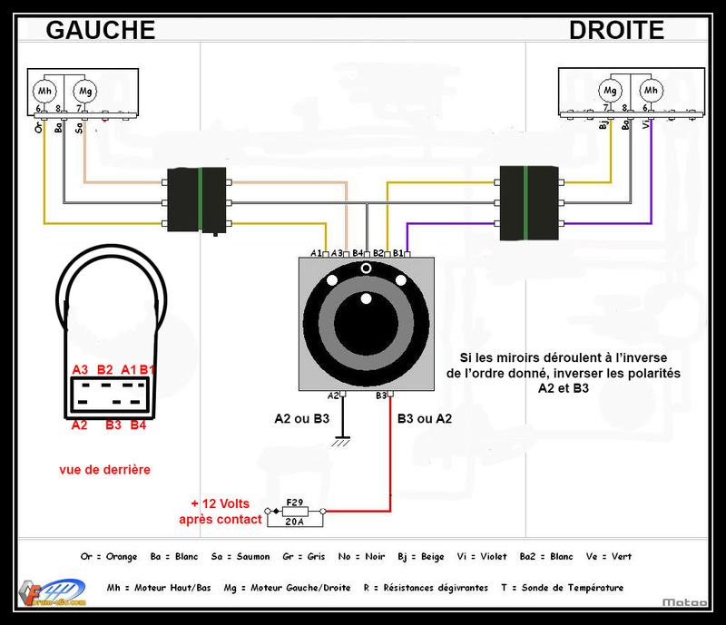 Rétroviseurs à commande électrique - Nouveau délire Schema10