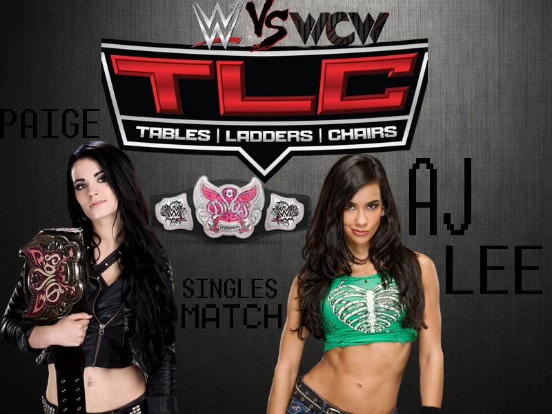 WWE Vs WCW: Tables, Ladders And Chairs (TD Garden à Boston, Massachusetts) Paige_18