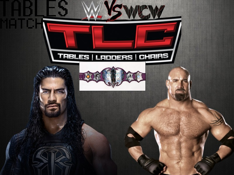 WWE Vs WCW: Tables, Ladders And Chairs (TD Garden à Boston, Massachusetts) Reigns11
