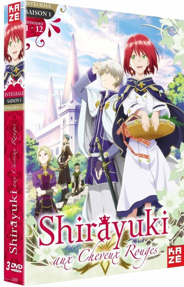 Shirayuki aux cheveux rouges en DVD 71die010