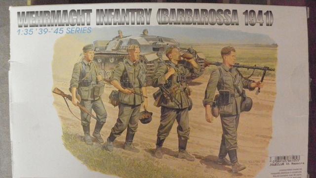 Wehrmacht infantry - 1/35 - Dragon  P9280610
