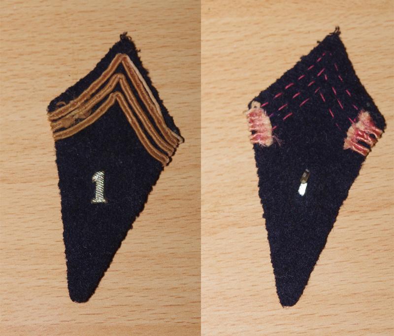 patte de col 1er dépot de cavalerie 1940 - 310 R.I - 4 Ik5m7037
