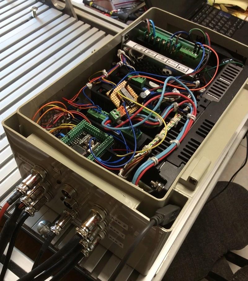 TABLE CNC Quelques photos Cablag10
