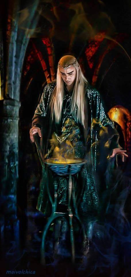 Vampire Thranduil - Halloween 2016 Tribute! 14666110