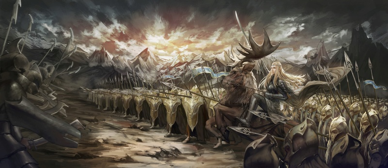 The Moment of JusticeStorm - in tribute to Thranduil BerserKing & The Primordial Tempest of War Ie-oaz12