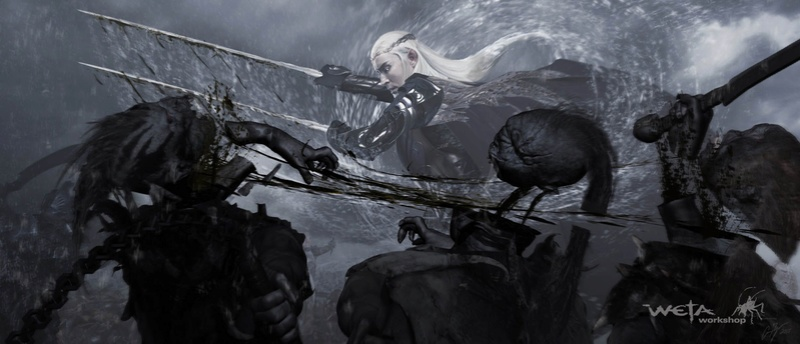 The Moment of JusticeStorm - in tribute to Thranduil BerserKing & The Primordial Tempest of War Ie-oaz13