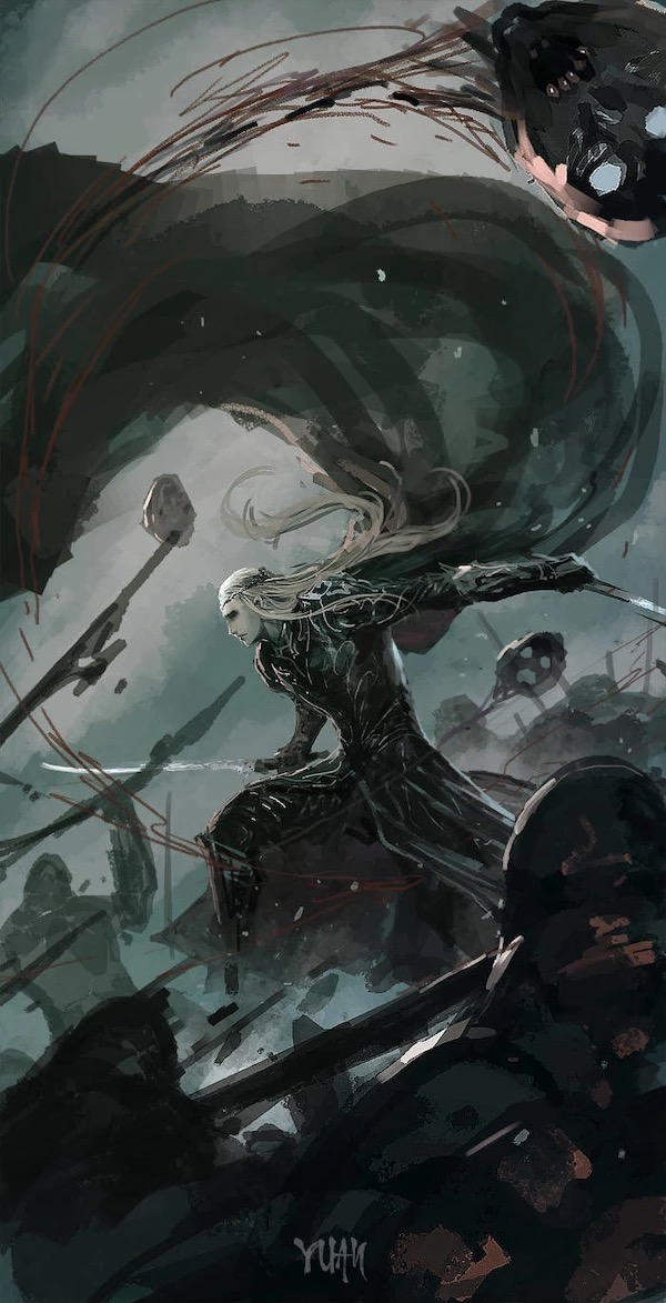 The Moment of JusticeStorm - in tribute to Thranduil BerserKing & The Primordial Tempest of War Ie-oaz14