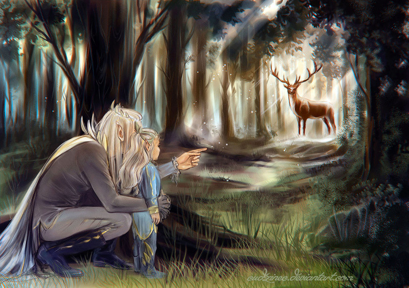 The Wild side of Thranduil (& the creatures of Mirkwood) Ie-oaz15