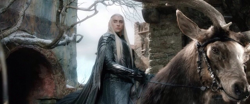 The Wild side of Thranduil (& the creatures of Mirkwood) Tumblr11