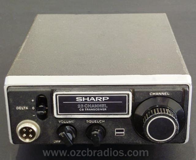 Sharp CB-700 (Mobile) Sharp-10