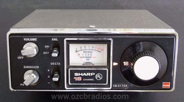 Sharp CB-2170X (Mobile) Sharpc10