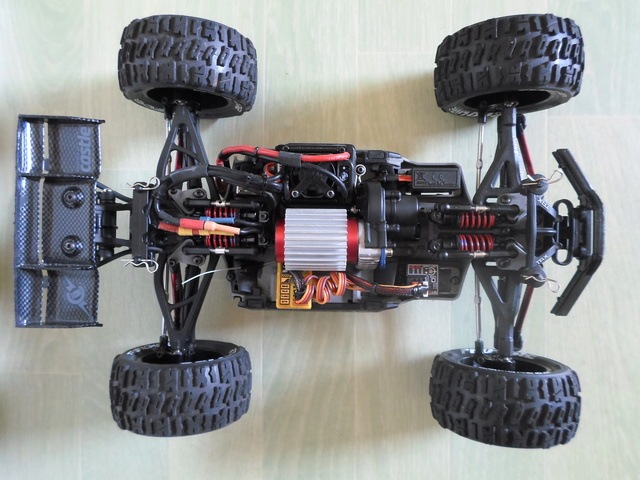 E-Revo's 1/16 Brushless 3S (380/540) 311