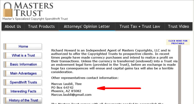 Is Garry Mcguire (Wingit) Involved In A Masters Trust Scam? Parkmy10