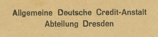 1945 - Freistempel / Absenderfreistempel Deutsches Reich (bis 1945) Dresde10