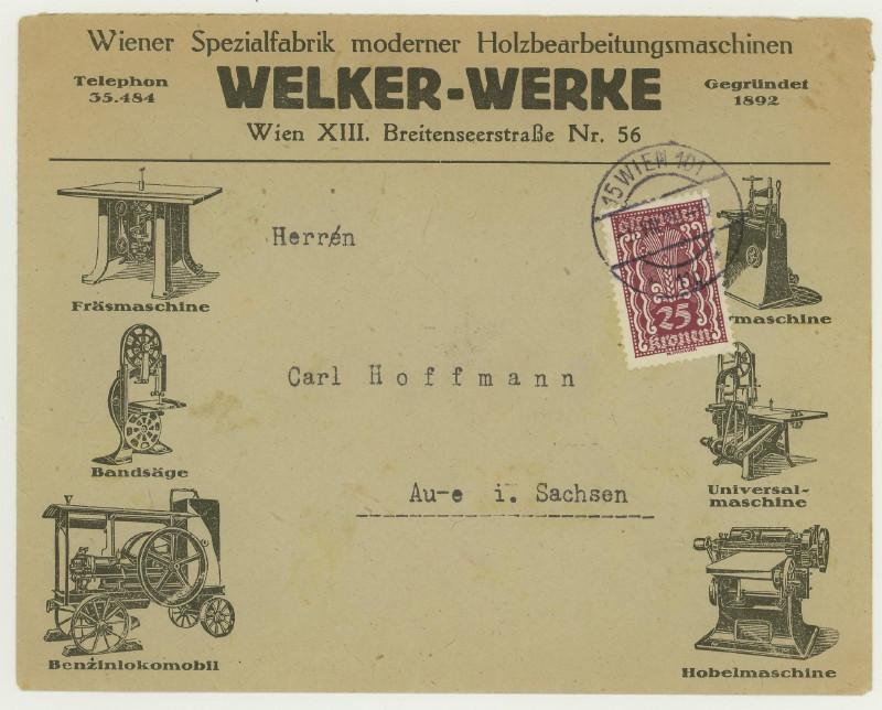 Werbeumschläge und -karten aus Österreich - Seite 5 Holzbe10