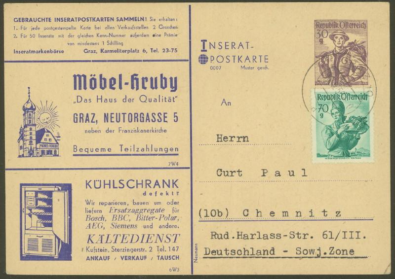 Anzeigen-Postkarten Insera13