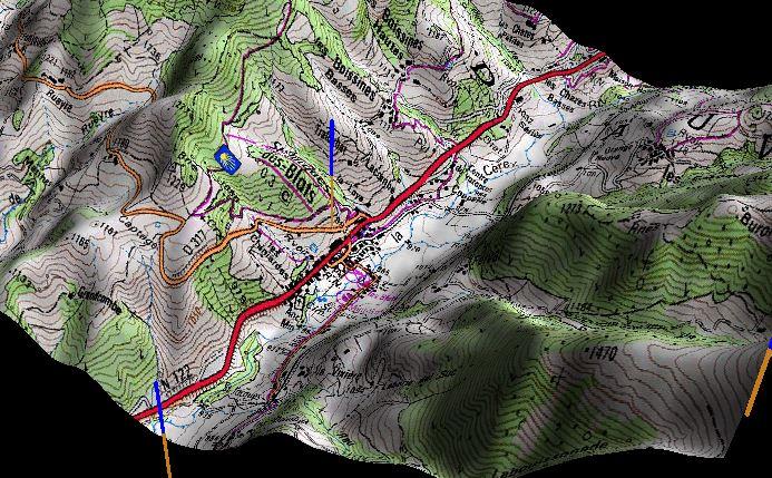 Cartographie complete de la France en 3D  Volcan10