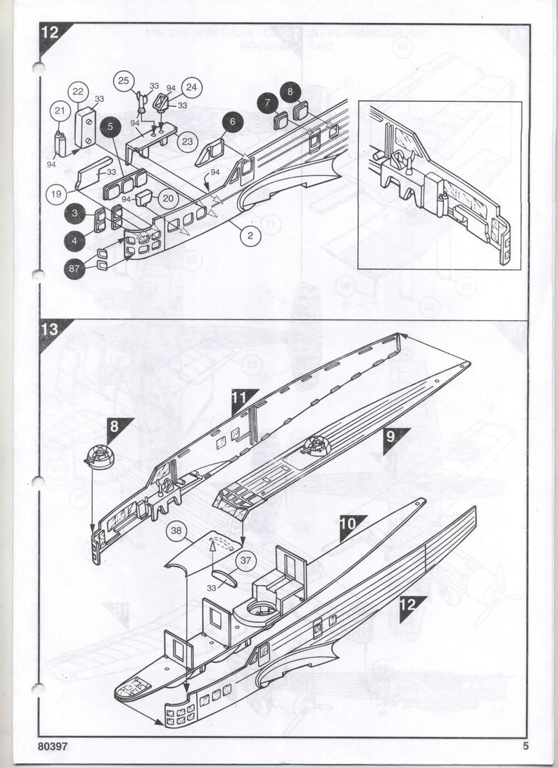 BLOCH MB 210 - HELLER - 1/72 - REF : 80397 - NOTICE  Notic122