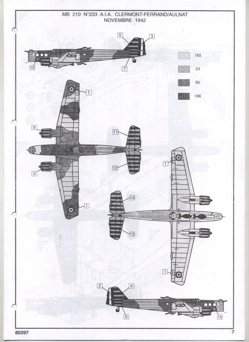 BLOCH MB 210 - HELLER - 1/72 - REF : 80397 - NOTICE  Notic124