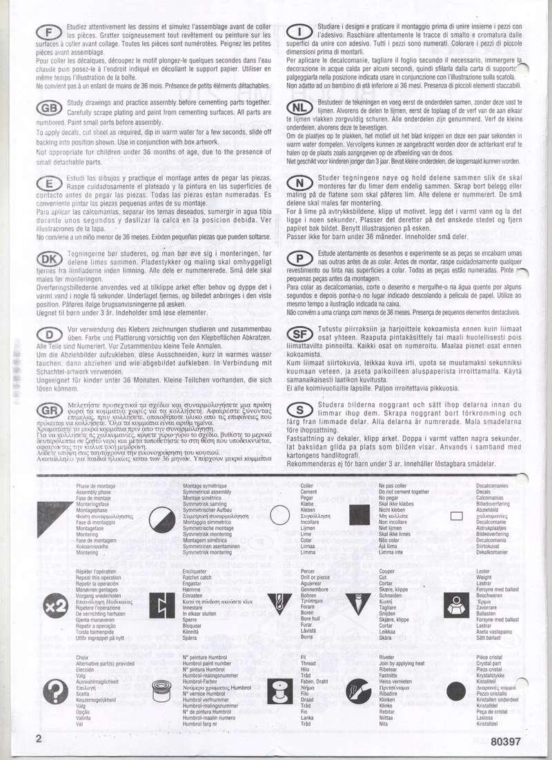 BLOCH MB 210 - HELLER - 1/72 - REF : 80397 - NOTICE  Notic126