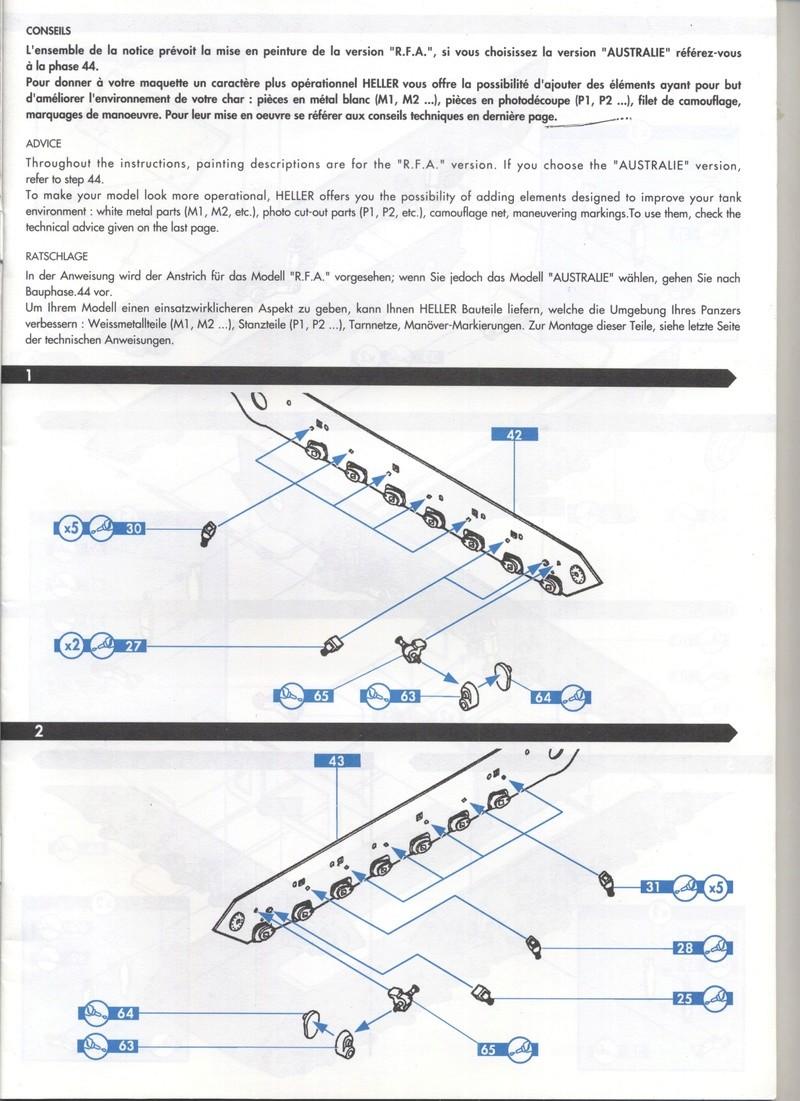 LEOPARD 1 A4 - 1/35 - REF : 81136 - NOTICE  Notice47