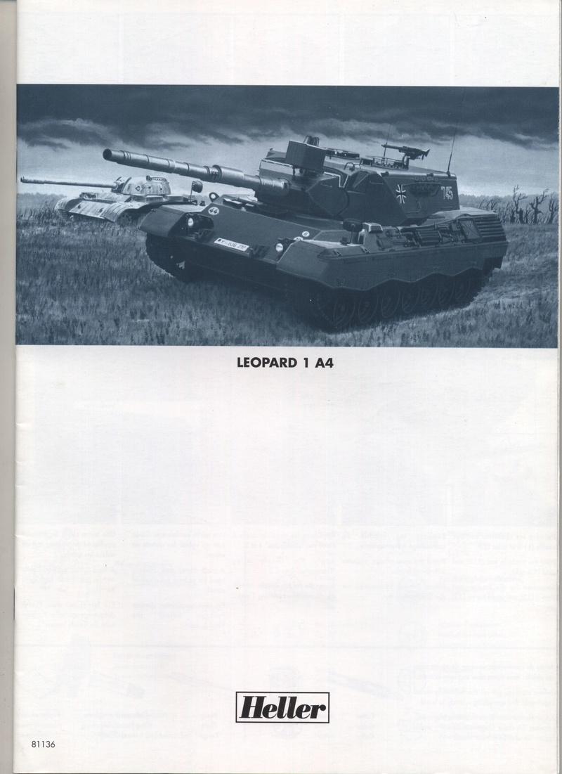 LEOPARD 1 A4 - 1/35 - REF : 81136 - NOTICE  Notice49