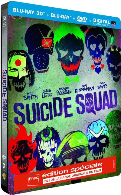 Suicide squad : Edition spéciale steelbook VERSION LONGUE ANNONCEE !! Steelb10