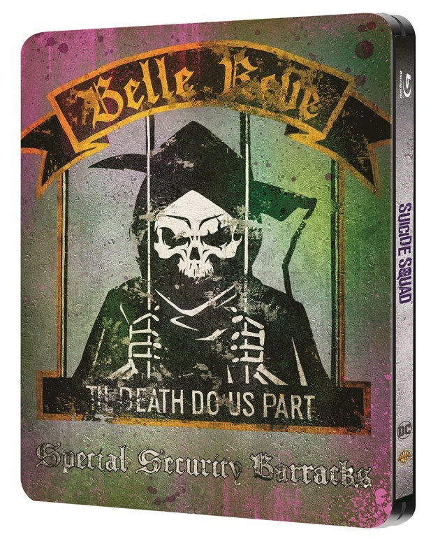 Suicide squad : Edition spéciale steelbook VERSION LONGUE ANNONCEE !! Verso10