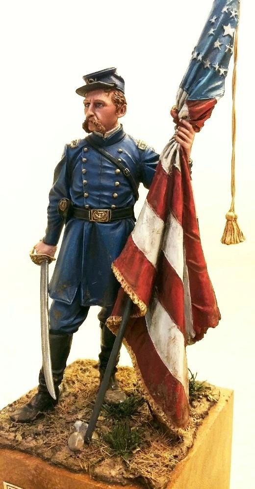 Colonel Chamberlain à Gettysburg Photo_12