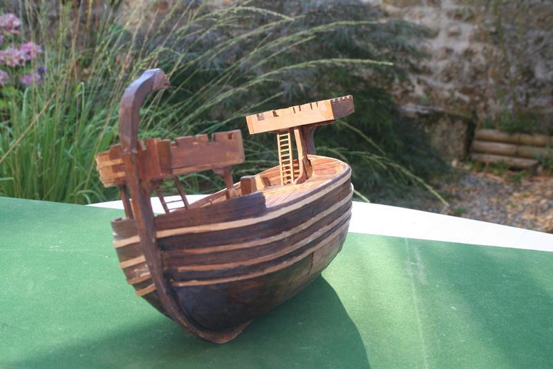 Nef de pirates normands au 1/60 e par JJ - Page 2 Img_8713