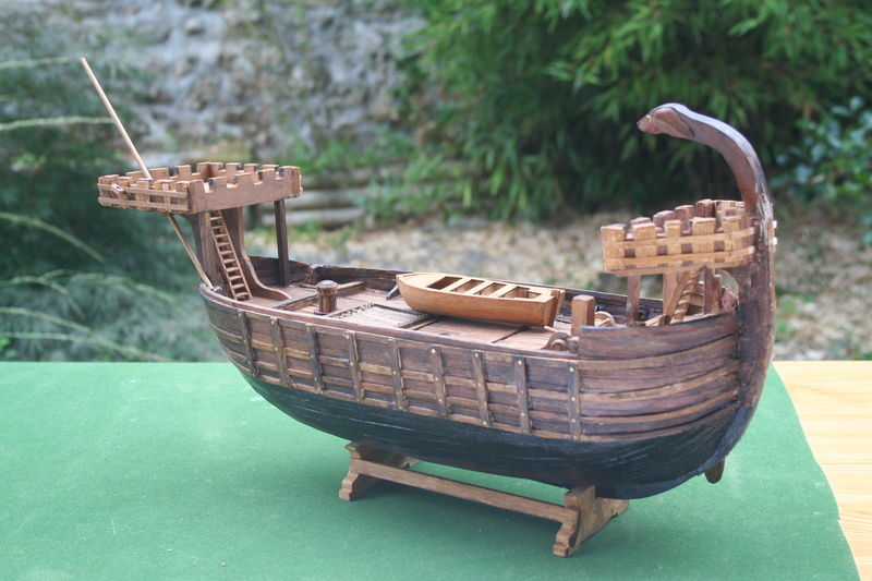 Nef de pirates normands au 1/60 e par JJ - Page 2 Img_8726