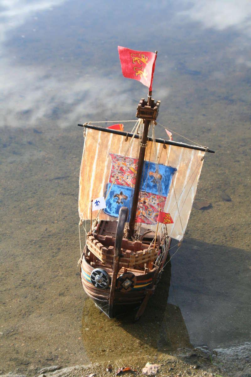 Nef de pirates normands au 1/60 e par JJ - Page 5 Img_8964
