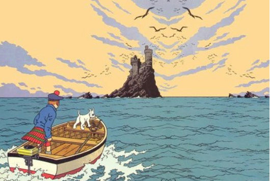 La Corniche de l'Estérel Tintin10