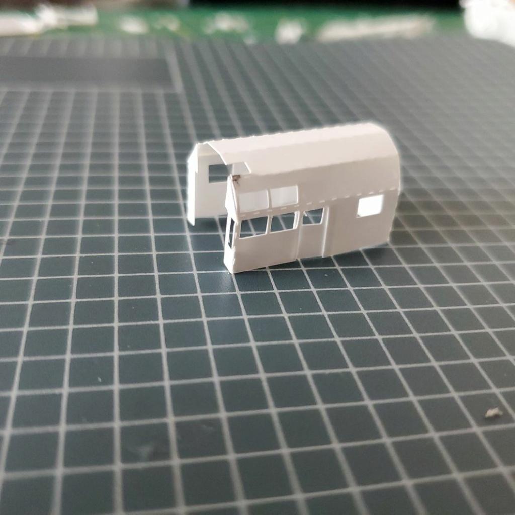LePoete: Fabrication grue caillard intégralement en carte plastique 1229