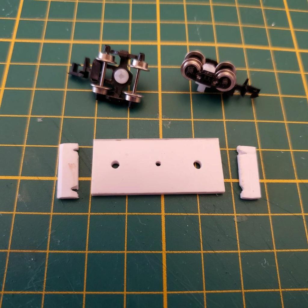 LePoete: Fabrication grue caillard intégralement en carte plastique B_0110