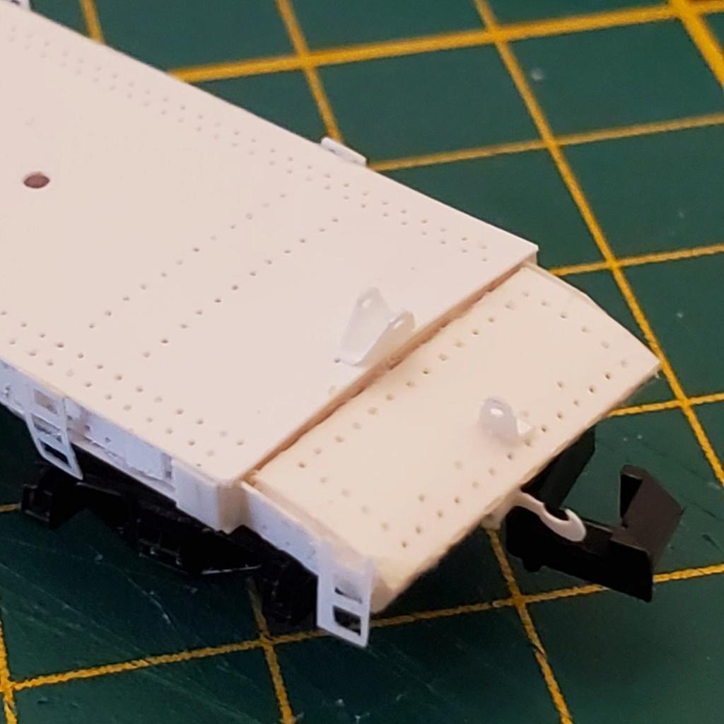 LePoete: Fabrication grue caillard intégralement en carte plastique B_1210