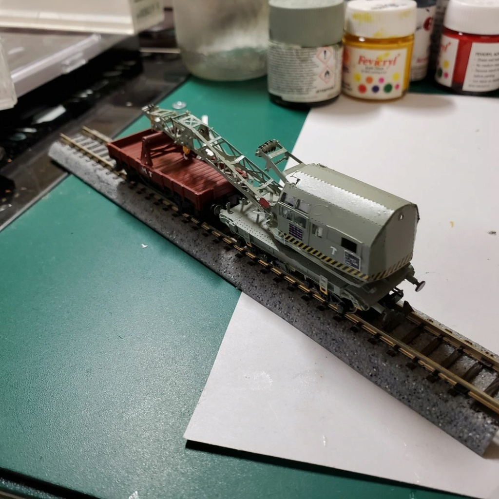 LePoete: Fabrication grue caillard intégralement en carte plastique D_0210