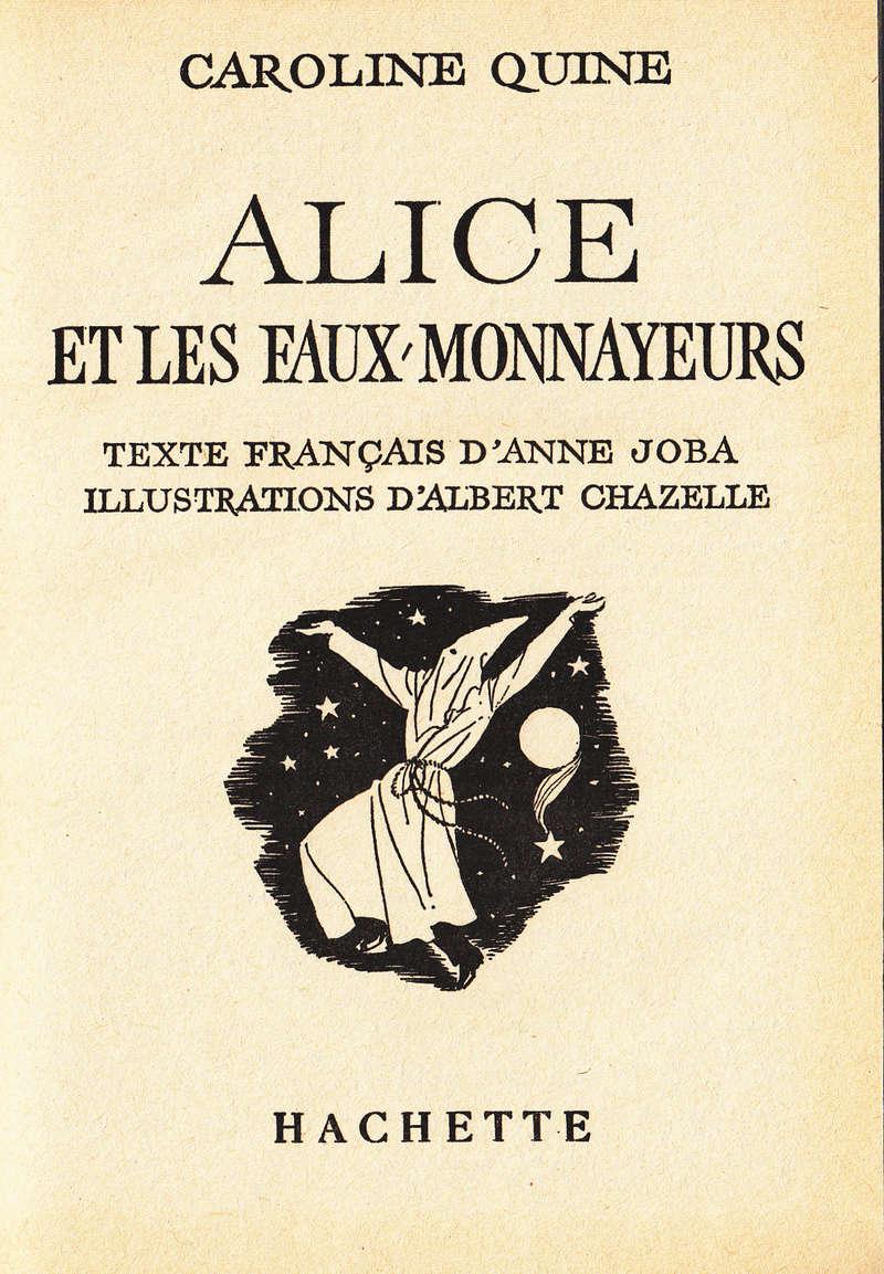 Recherches sur les anciennes éditions d'Alice (Titres 31 à 45) Relevy13
